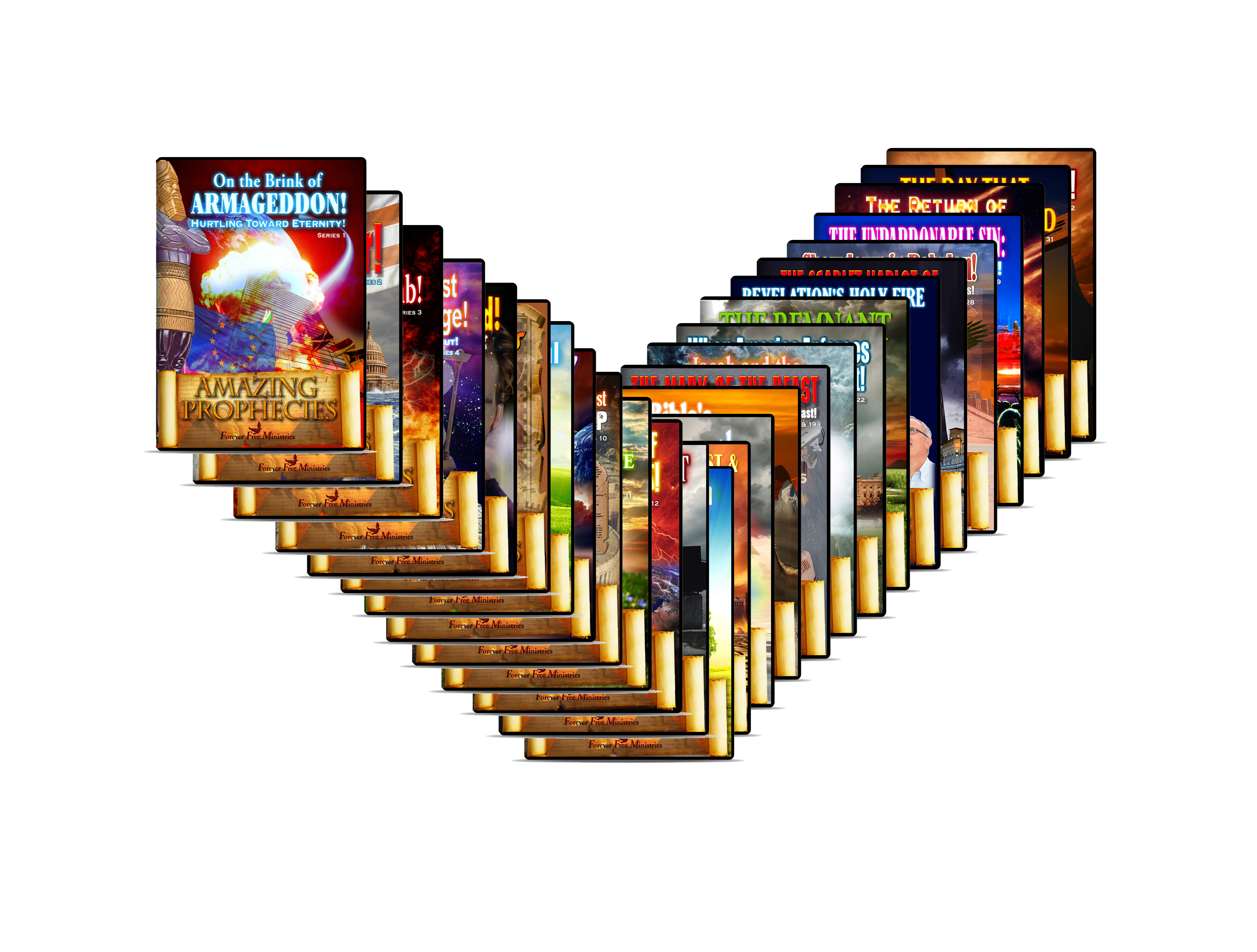 32 DVD Set on Bible Prophecy