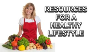RESOURCES FOR A HEALTHY LIFESTYLE  Graphic for website